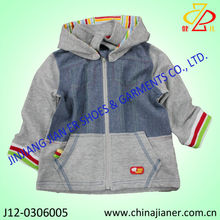 new design boys jacket kids and child coat with hood