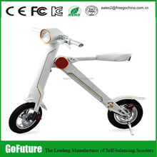 Two wheel electric vehicle/ foldable electric bicycle/electric personal transporter with headlight bluetooth USB
