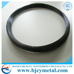 Baoji Manufacturer Thermal Spraying 99.95% Molybdenum Wire Cutting Wire For Thermal Spray
