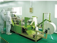Excellent Strength 10x10 nonwoven Cleaning Wiping rags In Cleanroom