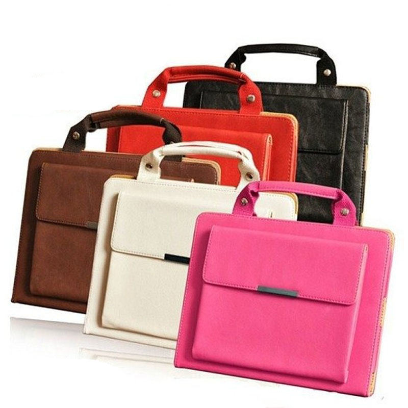Hot selling leather tablet Handbag Case for iPad Mini 4, for apple ipad mini4 case cover