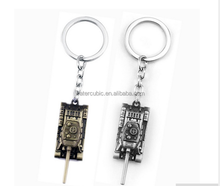 Wot Game World of Tanks KeyChain 5 CM Alloy Metal Tank Model Pendent Key Ring Gift Key Chain Ring Holder for Car Fans Souvenirs