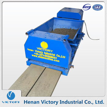 Building Material Machinery precast concrete fence plate prices making machine