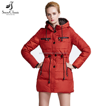 Professional manufacturer cheap cotton-padded women's winter warm long coat jacket