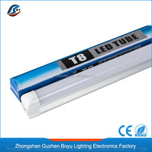 T8 LED integrated Tube lighting 5 feet 1.5m clear/forested pc cover led light tube housing 24W