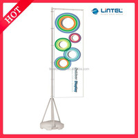 4 meters water base outdoor flag banner stand