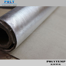 Wall/Roof covering Cloth Application and E-Glass Yarn Type aluminum foil coated cotton fiberglass fabric