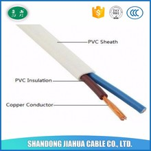high quality house wiring electrical cable double cores 0.5mm,0.75mm,1mm,1.5mm,2.5mm,4mm