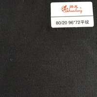 80% Polyester 20% Cotton plain twill pocketing fabric