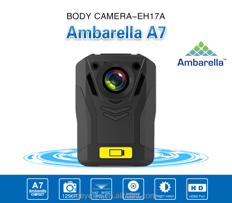 3G Mobile Dvr , Night Vision Wearable Camera