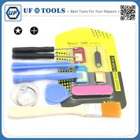 8 in 1Repair Opening Screwdriver Set Screwdriver Brush Clearing Nano Sim Adaptor Tool Set For iPhone