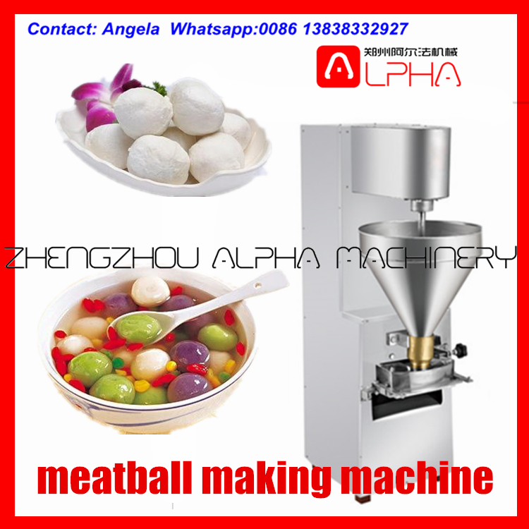 electric fish ball former/commerial meatball former/beef ball making machine