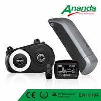 Central motor for Electric bicycle Ananda Brandbrushless mid motor electric bike