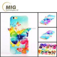 Wholesale Colorful drawing plating bluray butterfly style mobile phone case for iphone 5s cell phone cover case for iphone 5s