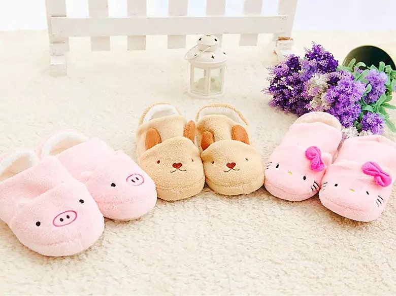 Proofing men footwear designs silk cartoon cute slippers from china