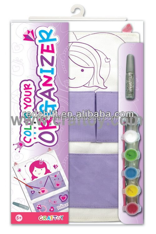 Paint set Color your Princess organizer