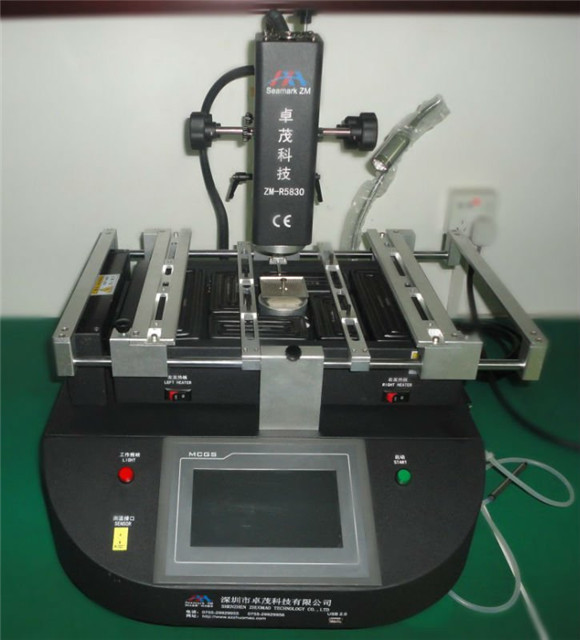 optical system bga rework station zm r5830 reballing professional seamark bga rework station