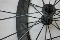 38mm tubular carbon road bike wheels carbon aero road wheel rim MT-38T