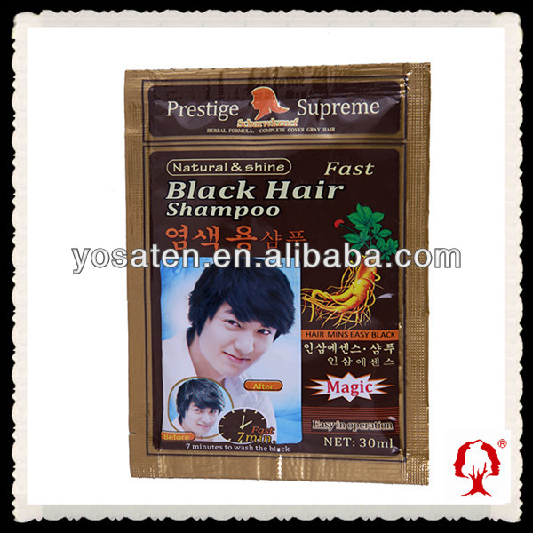Black Hair Color Shampoo Bio Hair Shampoo,A Best Gift To You