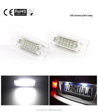 led number license plate lamp Rear Number Light for golf polo passat B6