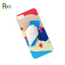 For iphone 7 Mobile Phone Cover 3D Three-dimensional Cartoon Squishy Phone Case