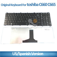 notebook keyboard for TOSHIBA C650 C655 C660 C665 L650 L655 L670 L750 black laptop keyboard