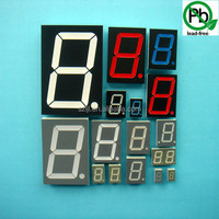 Stable performance led display customized single digit 7 segment one digit optoelectronic display