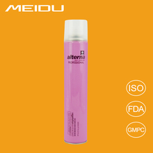OEM/ODM private label 2016 top rated hair care product hairspray products hair spray styling hair spray brands