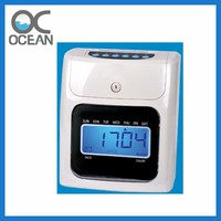 Ocean OCA100 Soco Ingles Proximity Card Time Attendance Time Punch Clock