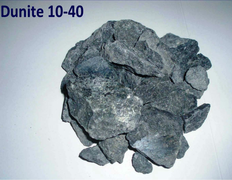 Dunite (Refractory, EBT, Slag conditioner)