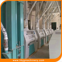 Hebei Jing Gang corn grits mill/low price flour mill plant