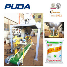 30kg animal feed bag filling and sewing machine