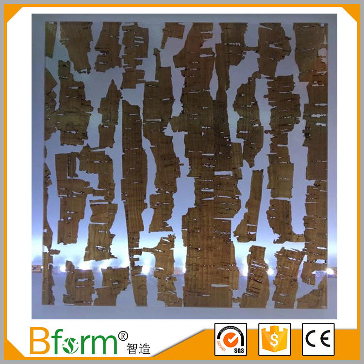 Recycled Resin Decorative Cabinet Door Plastic Panels