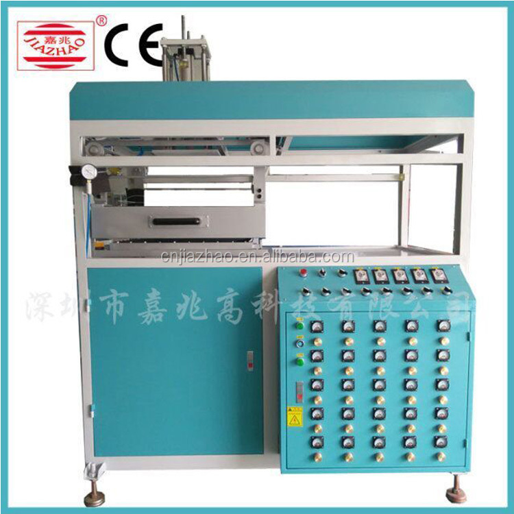 18KW Semi-Automatic Blister Forming Machine Plastic Vacuum Molding Machine JZC-1220