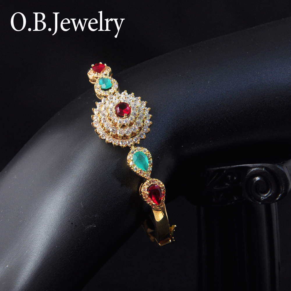 OB Jewelry-Small Chain Rhombus Shape Bracelet New Gold Bracelet Designs For Children