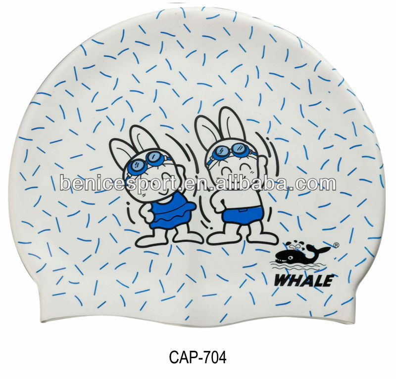 childrens nylon swimming cap