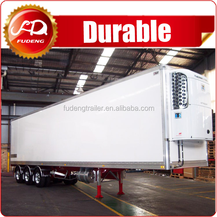 25 - 40Tons Semi-Trailer Refrigerator truck / Refrigerated Container Semi Trailer