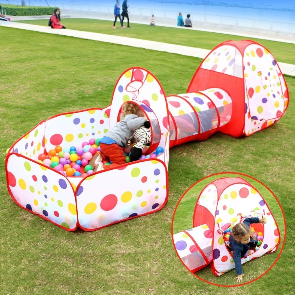 Child Toy Ocean Ball Pool Pop up Diy Foldable Kids Play House Baby Tent