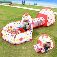 Child Toys Casa Juguete Ocean Ball Pool Pop up Diy Foldable Kids Outdoor Toy Play House Baby Tent