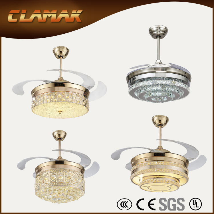Factory supply Decorative ceiling fan with light / led light.html Made in China