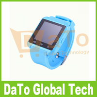 Free Shipping 25pcs Fashion Silicon Bluetooth U8 Smart Mobile Watch Phones