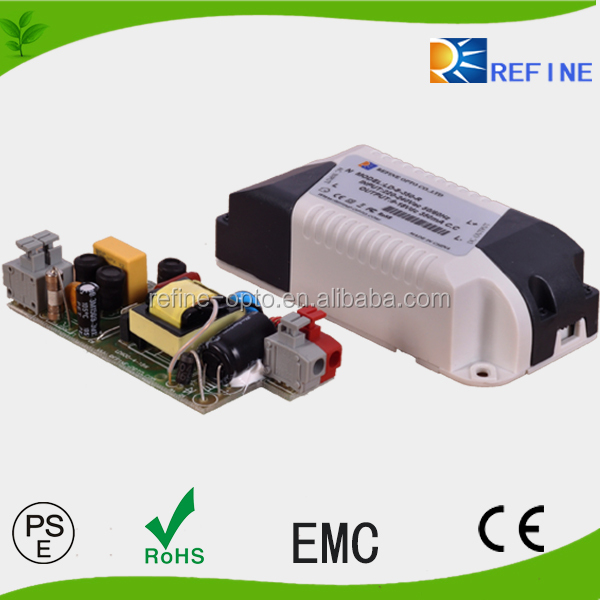 EMC standard 3 warranty years constant current 9w 12w 15w 18w 25w 36w 45w led driver for led panel light