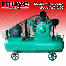 Heavy duty piston air compressor used in medium atomizing heavy oil burner is a special air compressor
