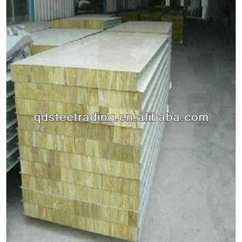 Rockwool sandwich insulation panel view rock wool for Rockwool insulation panels