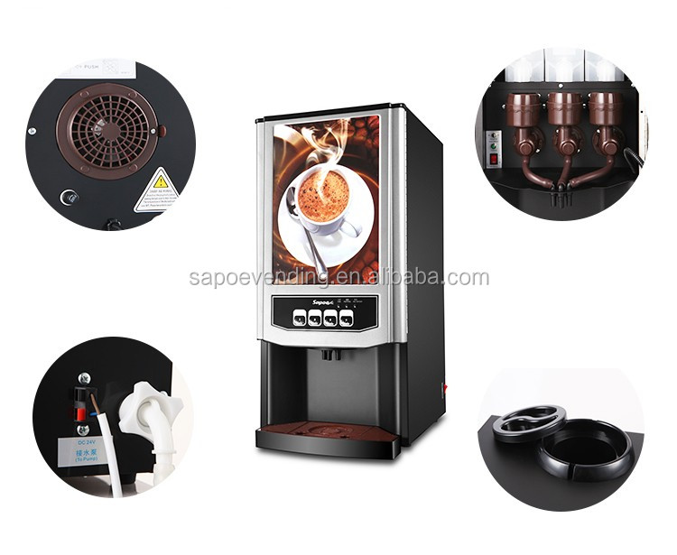 Sapoe restaurant commercial fully automatic coffee machine