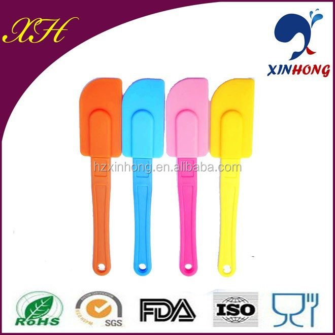 Alibaba express best selling silicone cosmetic spatula