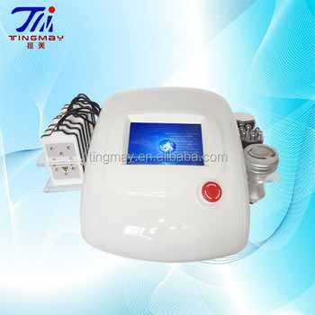 4in1 Multipolar rf+vacuum+40K cavitation+lipo laser pads slimming machine