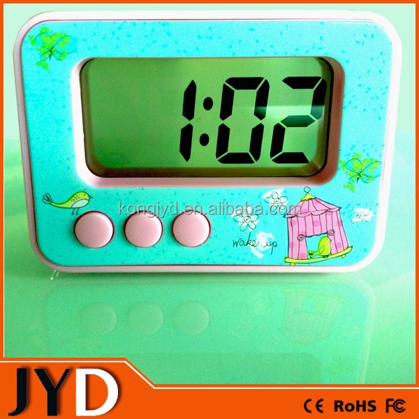 JYD- DAC69 Easy To Read Digital Alarm Clock With Extra Loud Alarm Single