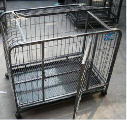 Dog cage/cheap dog cage/stainless steel dog cage