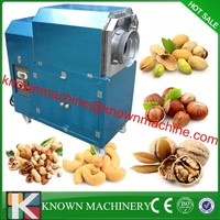 Industrical use 50kg capacity rotary drum electric chestnut roaster